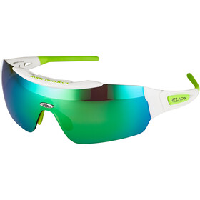 Rudy Project Ergomask Glasses white gloss/multilaser green
